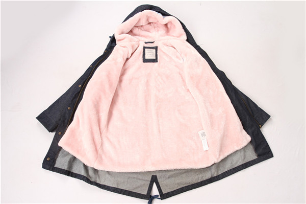 Pink Fleece Linning