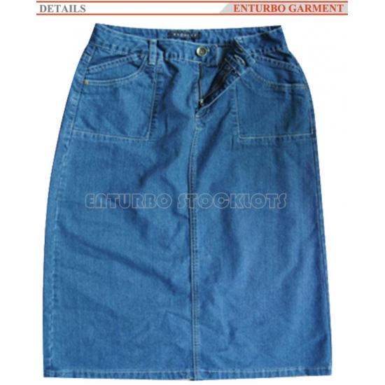 95f8a89f3 Fábrica Falda Azul Vaquera Ropa,falda Azul Vaquera Ropa En Stock